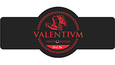 logotipo cerveza valentium